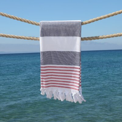 Patriotic Pestemal Beach Towel