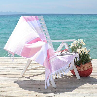 Summer Loving Pestemal Beach Towel Color: Pretty Pink