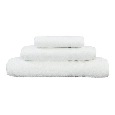 Denzi 3 Piece Towel Set Color: White