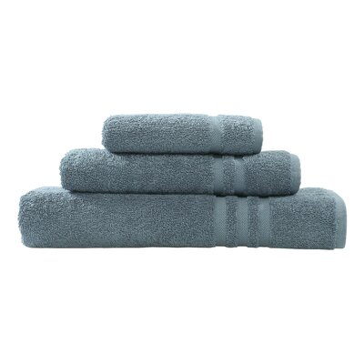 Denzi 3 Piece Towel Set Color: Denzi Blue