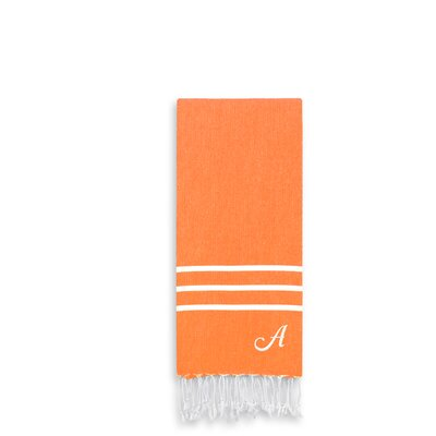 Alara Personalized Turkish Pestemal Hand Towel