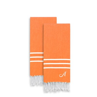 Alara Personalized Turkish Pestemal Towel Set