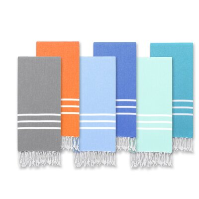 Alara Turkish Pestemal 2 Piece Towel Set