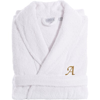 Personalized Terry Bathrobe