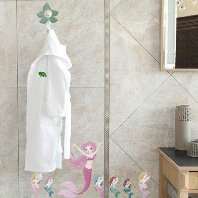 Terry Turtle 100% Turkish Cotton Hooded Bathrobe Size: Small