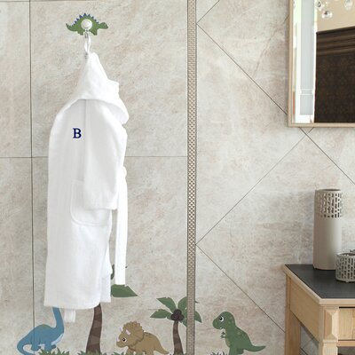 Terry Personalized 100% Turkish Cotton Hooded Unisex Bathrobe