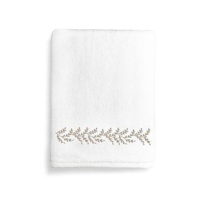 Vine Bath Towel Color: Light Brown