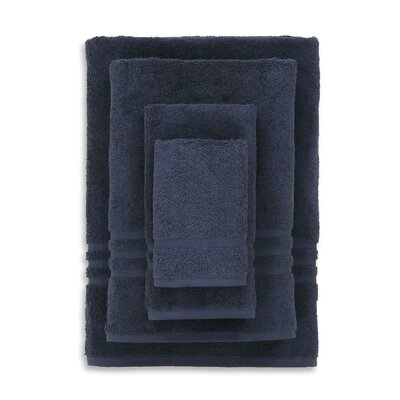 Denzi 4 Piece Towel Set Color: Twilight Blue