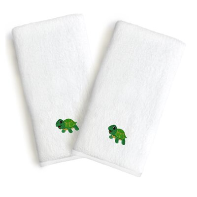 Terry Embroidered Hand Towels
