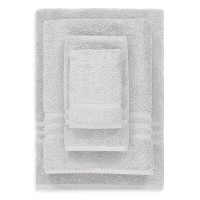 Denzi 4 Piece Towel Set Color: Gray