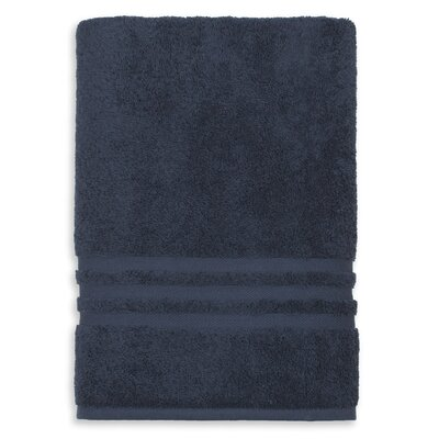 Denzi Bath Sheet Color: Twilight Blue
