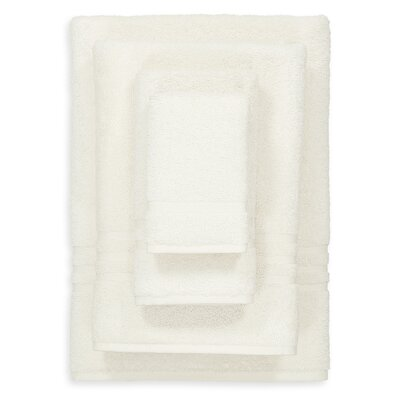 Denzi 4 Piece Towel Set Color: Cream