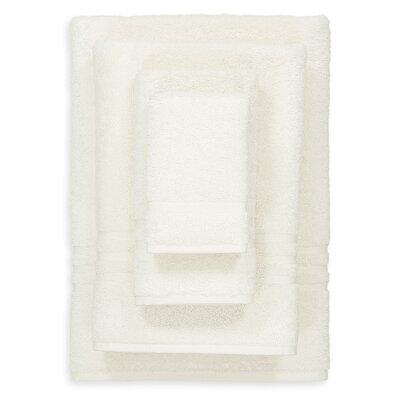 Denzi 4 Piece Towel Set Color: Cream