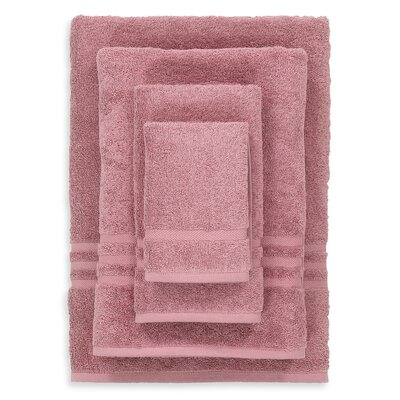 Denzi 4 Piece Towel Set Color: Tea Rose