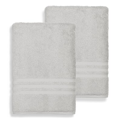 Denzi Bath Sheet Color: Gray