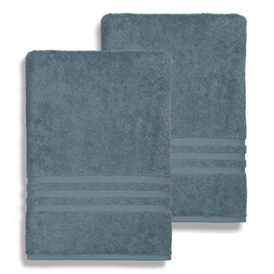 Denzi Bath Sheet Color: Blue