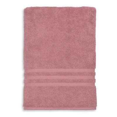 Denzi Bath Sheet Color: Tea Rose