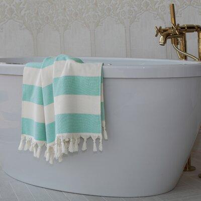 Jessa Fouta Towel Color: Aqua