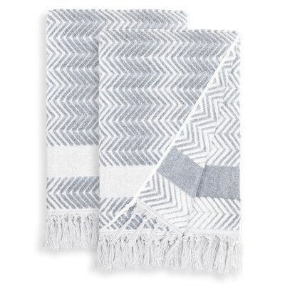 Scarlett Bath Towel Color: Dusty Blue