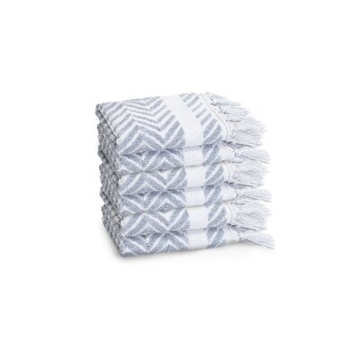 Scarlett Washcloth Color: Dusty Blue