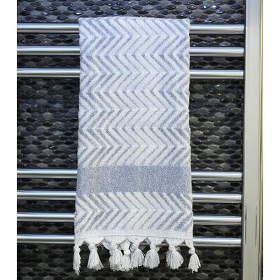 Scarlett Hand Towel Color: Dusty Blue