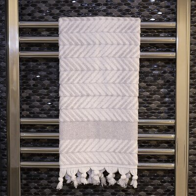 Assos Hand Towel Color: Dove Gray