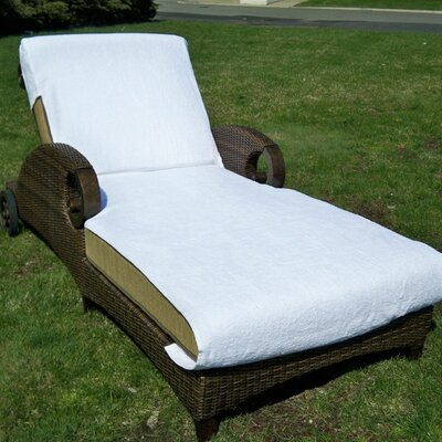 Chaise Lounge Cover Size: Standard