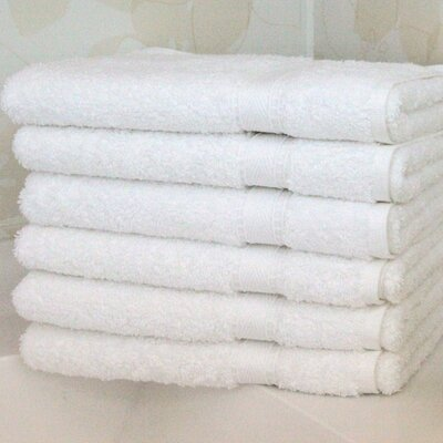 6 Piece Terry Hand Towel Set