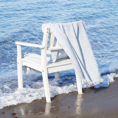 Pestemal Beach Towel Color: Sky Blue