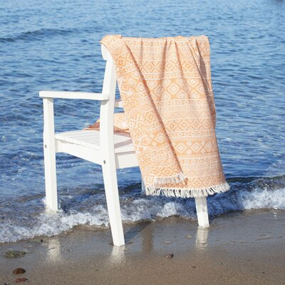 Pestemal Beach Towel Color: Orange