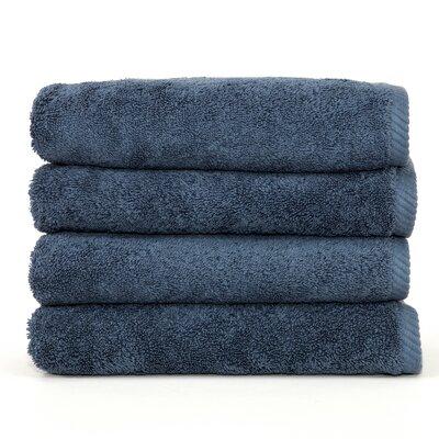 Soft Twist 100% Turkish Cotton Hand Towel Color: Blue