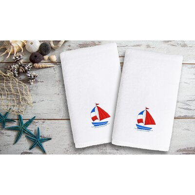 Libourne Kids Embroidered Luxury Boat Hand Towel