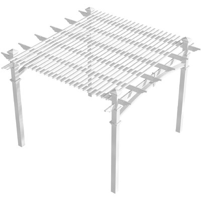 "New England Arbors 1' 6"" H x 10' W x 10' D Additional Shade Kit for Pergola at Sears.com"
