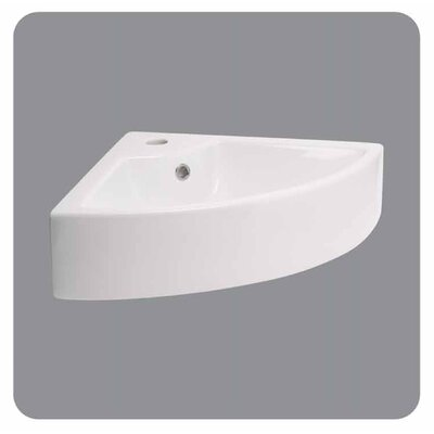 Providence Wall-Mounted Bathroom Sink in White