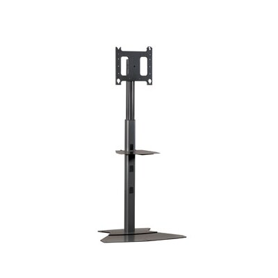 Adjustable Medium Tilt Floor Stand Mount for 30 - 50 Plasma/LCD Finish: Black