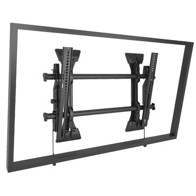 Medium Fusion Micro-Adjustable Tilt Wall Mount for 33 - 40 Flat Panel Screens