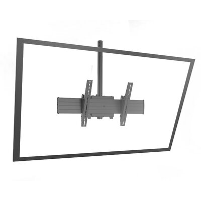 Fusion Extra Large Single Pole Ceiling Mounts Swivels for Greater than 50 Flat Panel Screens