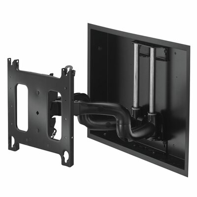 Large Low-Profile In-Wall Swing Arm Mount - 22