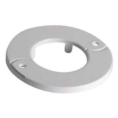Escutcheon Ring Color: White
