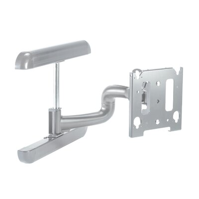 Universal MWR Double Stud Wall Mount for LCD Style: Vesa Compatible, Finish: Silver