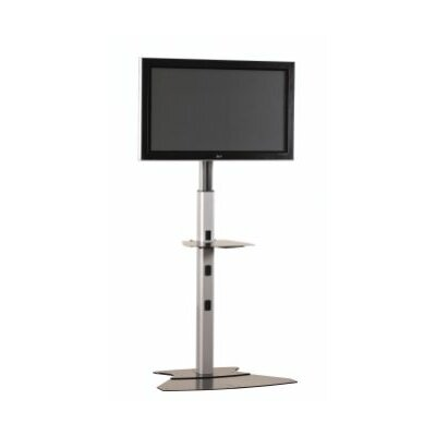 Medium Tilt Universal Floor Stand Mount for up to 50 Plasma/LCD Finish: Silver