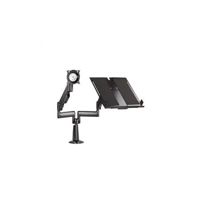 Chief Height-Adjustable Monitor / Laptop Dual Swing Arm Desk Mount - Color: Silver at Sears.com