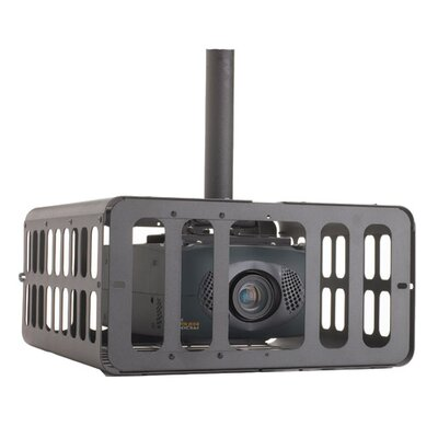 Large Projector Security Cage Color: Black
