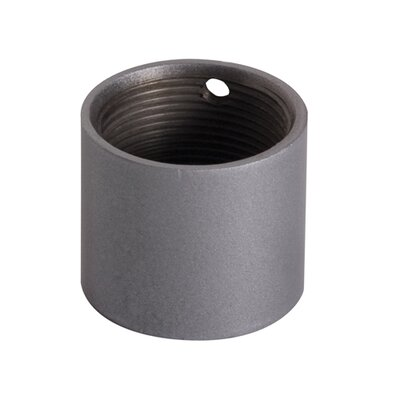 Threaded Pipe Coupler Finish: Silver