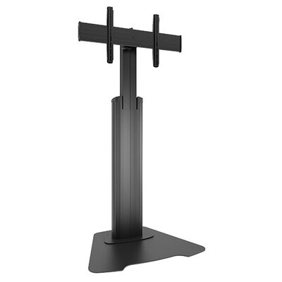 Large Fusion Manual Height Adjustable Floor Stand Custom Interface: LFAUB