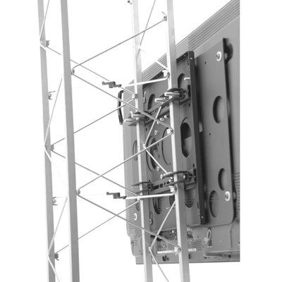 Large Fixed Truss Pole Mount Custom Interface: TPSU
