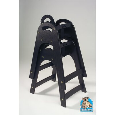 Designer High Chair Color: Black KB105-02