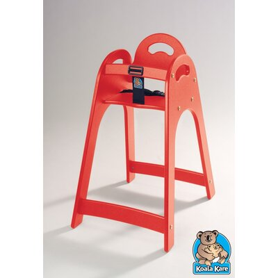 Designer High Chair Color: Red KB105-03
