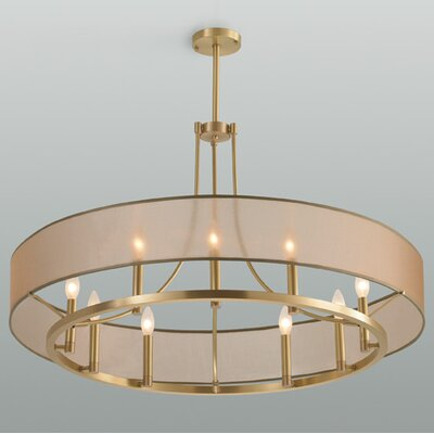 Ghost 9-Light Pendant Finish: Polished Nickel