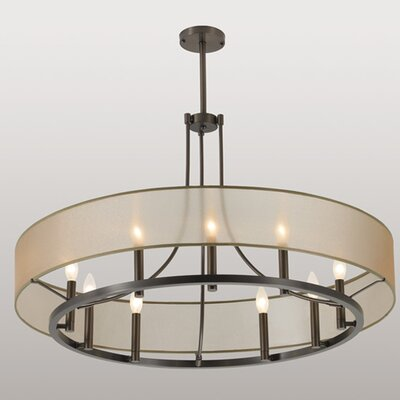 Ghost 9-Light Pendant Finish: Brushed Nickel